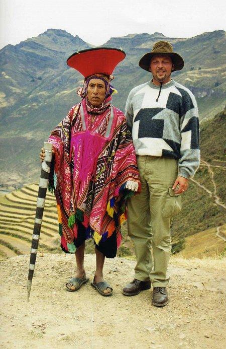 Peru. Naczelnik wioski. 2001r