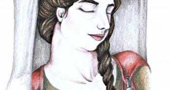 Ryc. 2. Rekonstrukcja stroju kobiety z Lalendorf (rys. A. Sztromwasser)