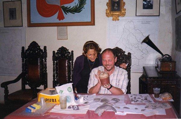 Peru. Muzeum w Cajamarca. Wolontariat. Renowacja ceramiki z Nazca.