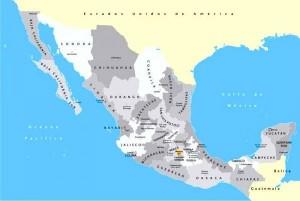 Przybliżona lokalizacja nowo odkrytych stanowisk archeologicznych w okolicach miasta Merida