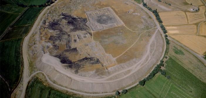 Widok na stanowisko archeologiczne Kültepe – Kanesz.