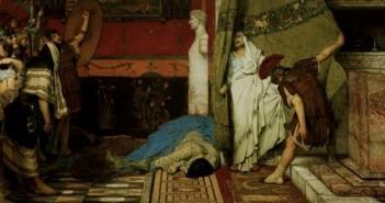 Tod des Caligula / Alma-Tadema - Death of Caligula / Alma-Tadema -
