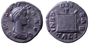 Denar Komnmodusa dla Kryspiny (Fot. M.Bogucki)
