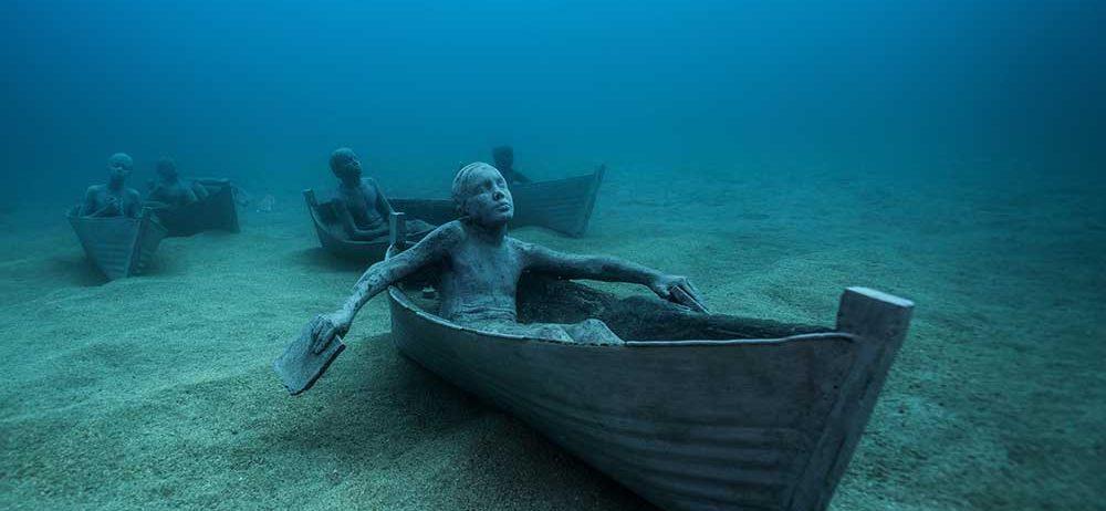 Niesamowite rzeźby Jasona Taylora deCaires
