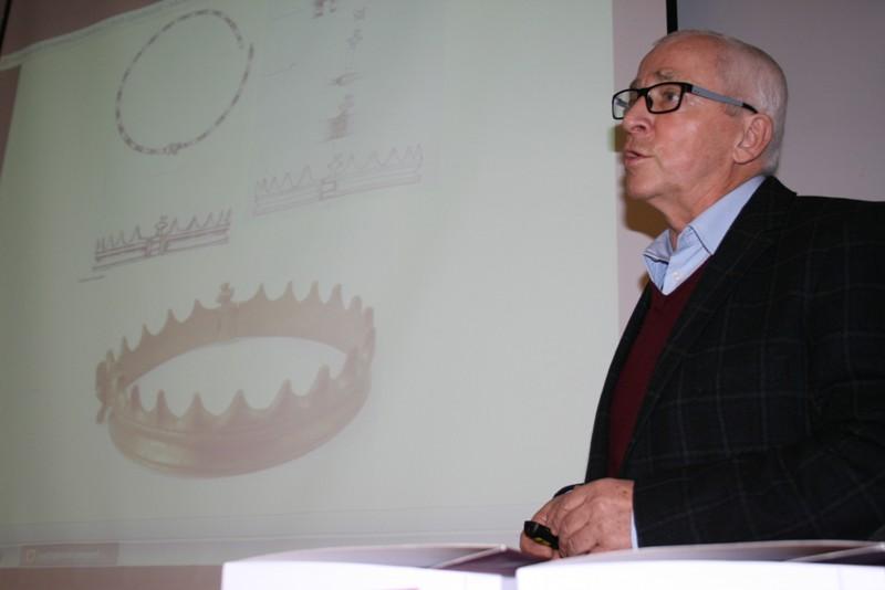 prof. Henryk Machajewski, adiunkt w Instytucie Archeologii Uniwersytetu Gdańskiego